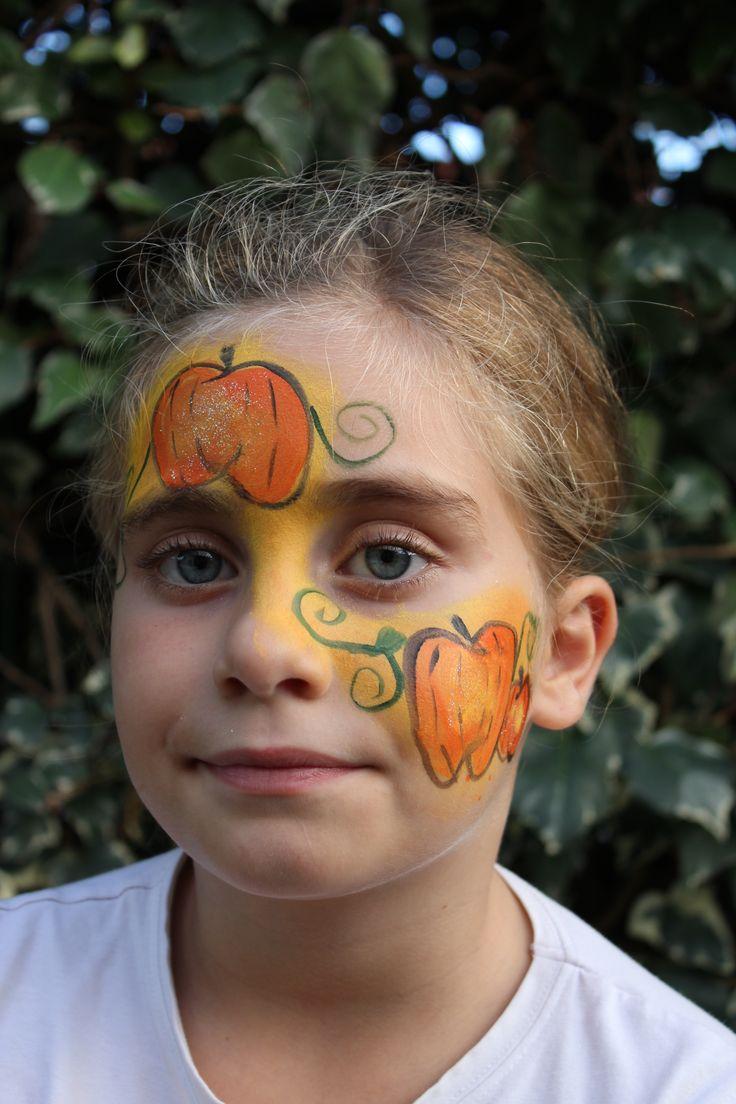 Les 25 meilleures id es de la cat gorie maquillage citrouille sur pinterest deguisement - Maquillage enfant halloween ...