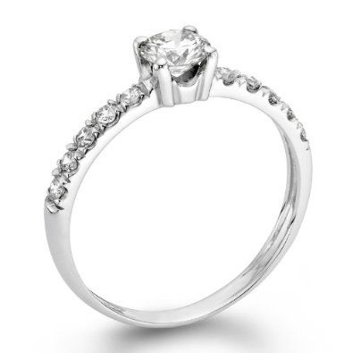 ND Outlet - Engagement   1/2 ctw. Certified GIA Round Diamond Solitaire Engagement Ring in 14k White Gold   Be the first to review this item   Like   (0)  Suggested Price:$4,550.00  Price:$2,490.00   Sale:$999.00   You Save:$3,551.00 (78%)