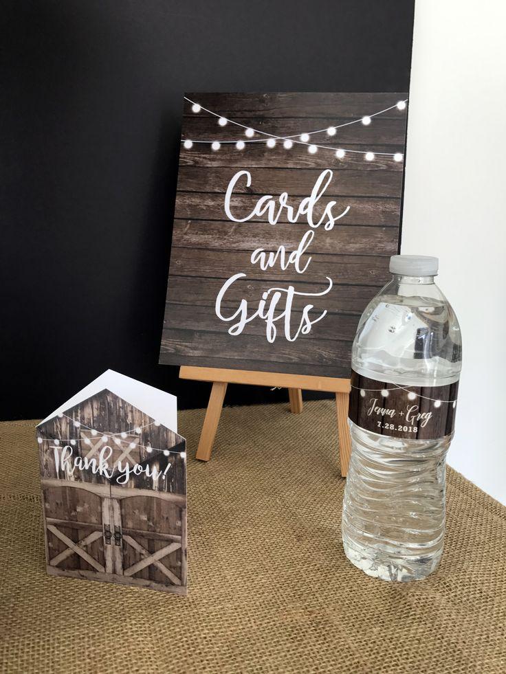 Water Bottle Label • Barn Wedding Water Bottle • Bride & Groom Water Bottle • Water Bottle Wedding Favors • Reception Favor • Rustic Wedding Ideas • Barn Wedding Favors • Barn Wedding Ideas • Rustic Wedding Favor #barnwedding