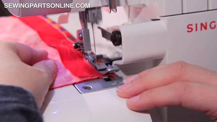 Flatlocking on a Serger / Overlock Machine - Sewing Parts Online Blog
