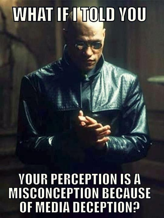 What if I told you your perception is a misconception because of media deception? | Anonymous ART of Revolution