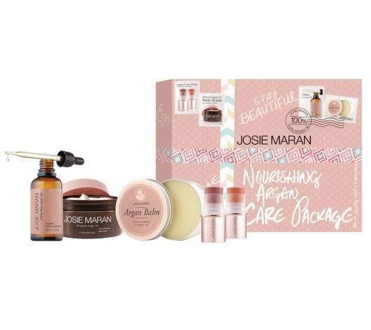 Josie Maran Ultimate Argan Moisturizing Collection QVC Today's Special Value January