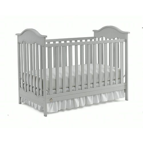 Fisher-Price Charlotte Traditional Crib-Misty Grey Finish