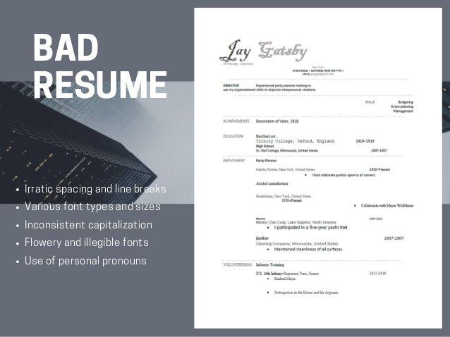 13 best resume samples images on pinterest resume templates