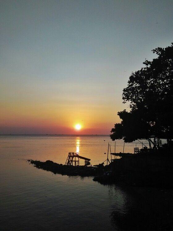 Sunset at Jepara beach