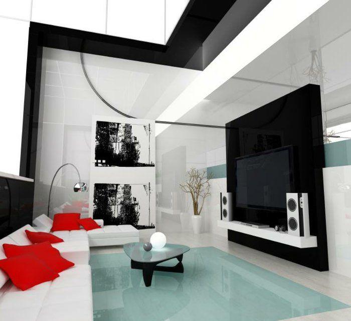Più di 25 grandi Wohnzimmer Einrichten Ideen su Pinterest Deko - wohnzimmer mit offener küche gestalten