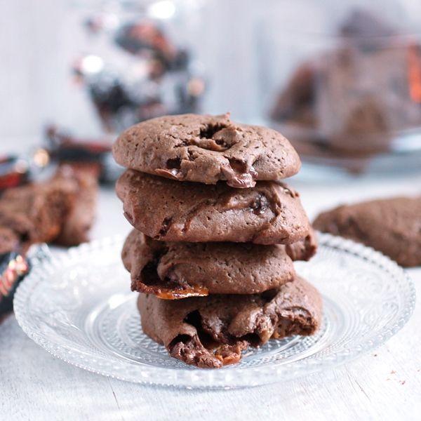 Ciasteczka czekoladowe z Marsem