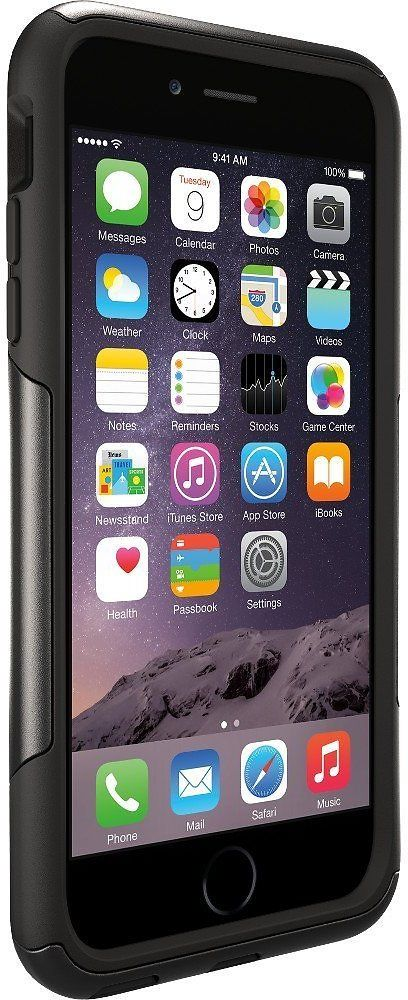 OtterBox COMMUTER IPhone 6 Plus/6s Plus Case - Frustration-Free Packaging - BLACK: Cell Phones & Accessories