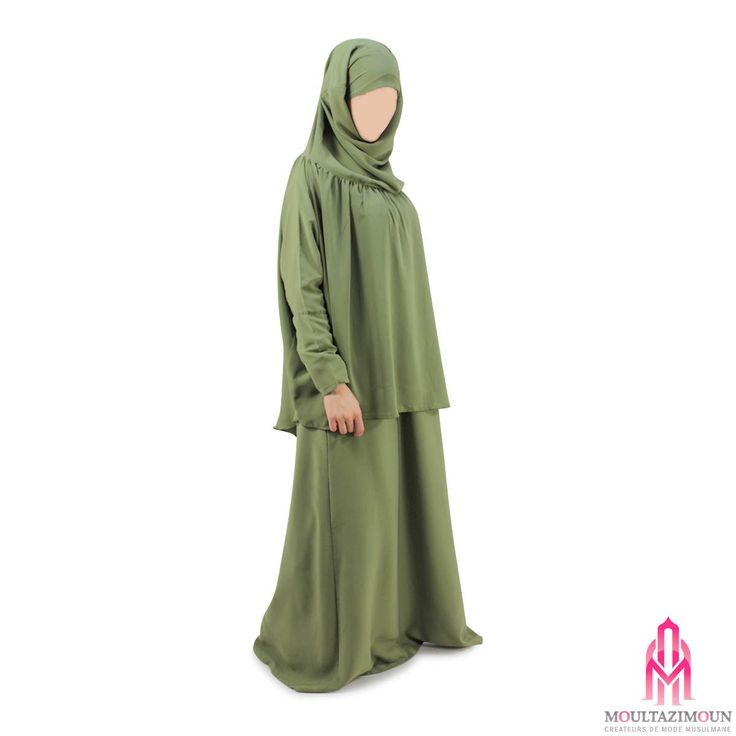 Khimar à fronces à manches - Al Moultazimoun #Overhead #khimar #jilbab #cardigan #jilbab #best #abaya #modestfashion #modestwear #muslimwear #jilbabi #outfit #hijabi #hijabista #long #dress #mode #musulmane #clothing