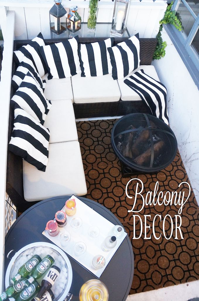 25 best ideas about balcony decoration on pinterest for Apartment balcony accessories