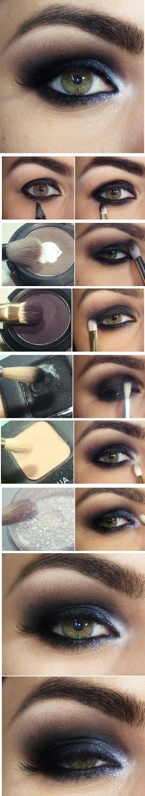 How to : Black Eye with Glow Inspired Makeup Tutorials / Best LoLus Makeup Fashion
