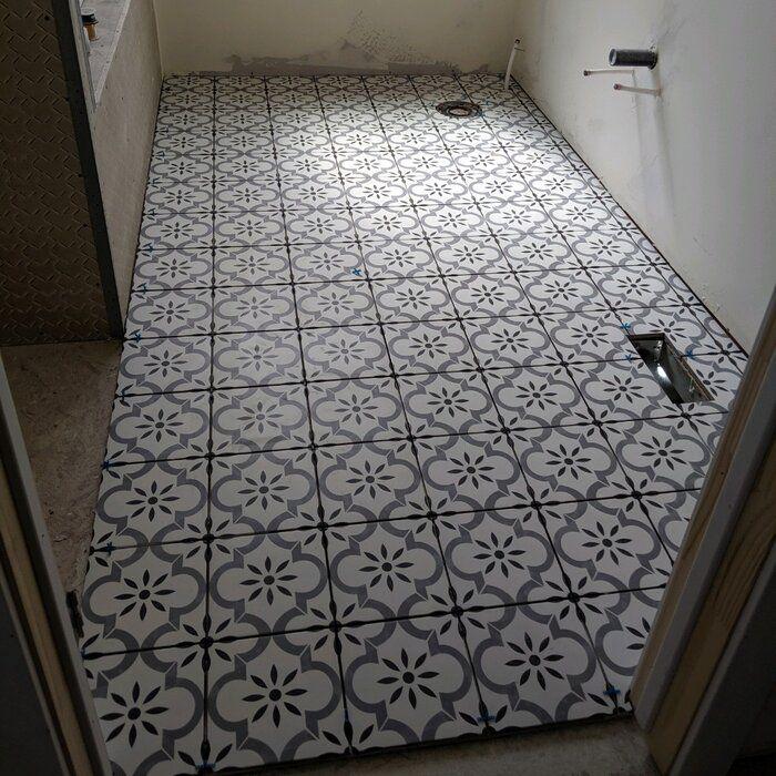 azila 8 x 8 porcelain field tile