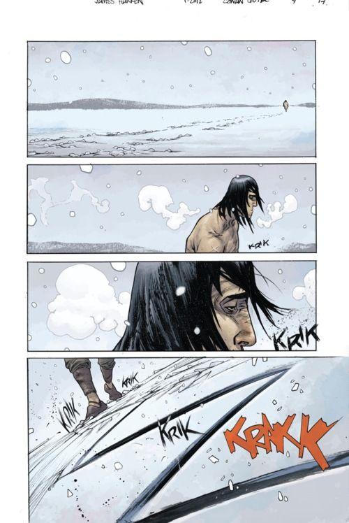 Andrew MacLean • Comics & Art (James Harren on Conan)