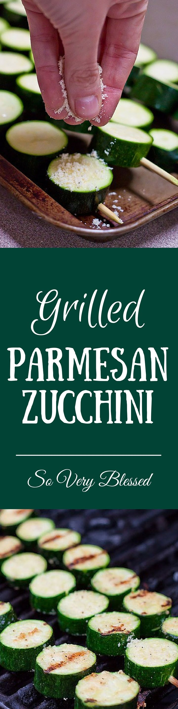 Toss some of these on the grill tonight! | SoVeryBlessed.com #grilling #summer #zucchini