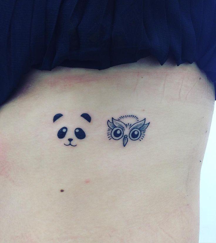 #blacktattoo #minimalisttattoo #tattoo #tatuagem #tattoowork  #linetattoo #dotworktattoo #dotwork #dottattoo #tatuagempontilhismo #lovetattoo #inktattoo #loveinktattoo #panda #pandatattoo #coruja #corujatattoo #muttleytattoo