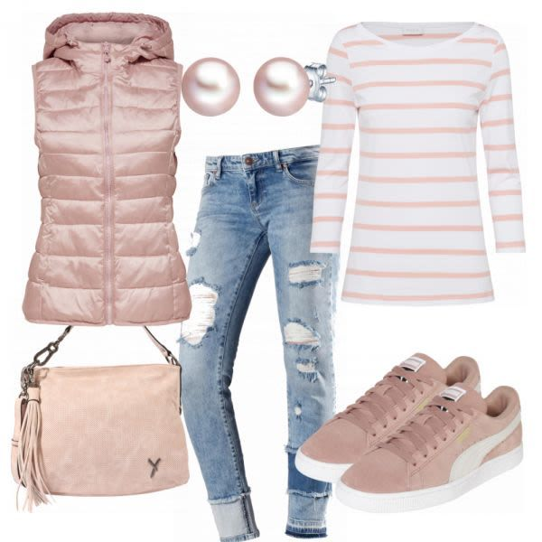 Westenzeit Damen Outfit – Komplettes Frühlings-Ou…