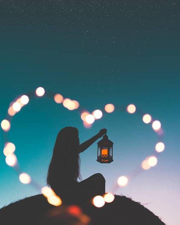 تصاویر مفهومی عاشقانه برای پروفایل دخترانه Landscape Illustration Disney Instagram Art Music