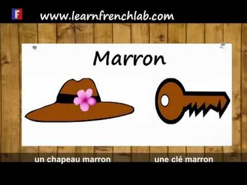 http://www.learnfrenchlab.com  Video to learn all the colors in French