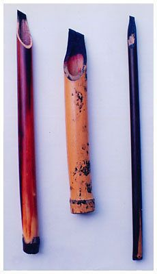3XCalligraphy Reed pen Qalam Kalam bamboo pen arabic urdu farsi | eBay