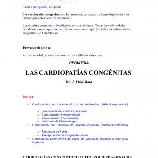 Cardiopatía congénita De Wikipedia, la enciclopedia libre Saltar a navegación, búsqueda Las cardiopatías congénitas son las anomalías cardíacas o a la predi. http://slidehot.com/resources/cardiopatia-congenita-fisiopatologia-ii-parcial-3.15139/