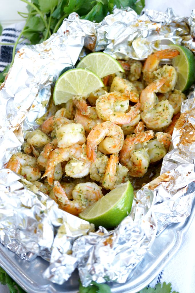 These Coconut Lime Shrimp Packets take just minutes to assemble and less than 15 minutes to cook, and they pack tons of delicious, summer-inspired flavors!