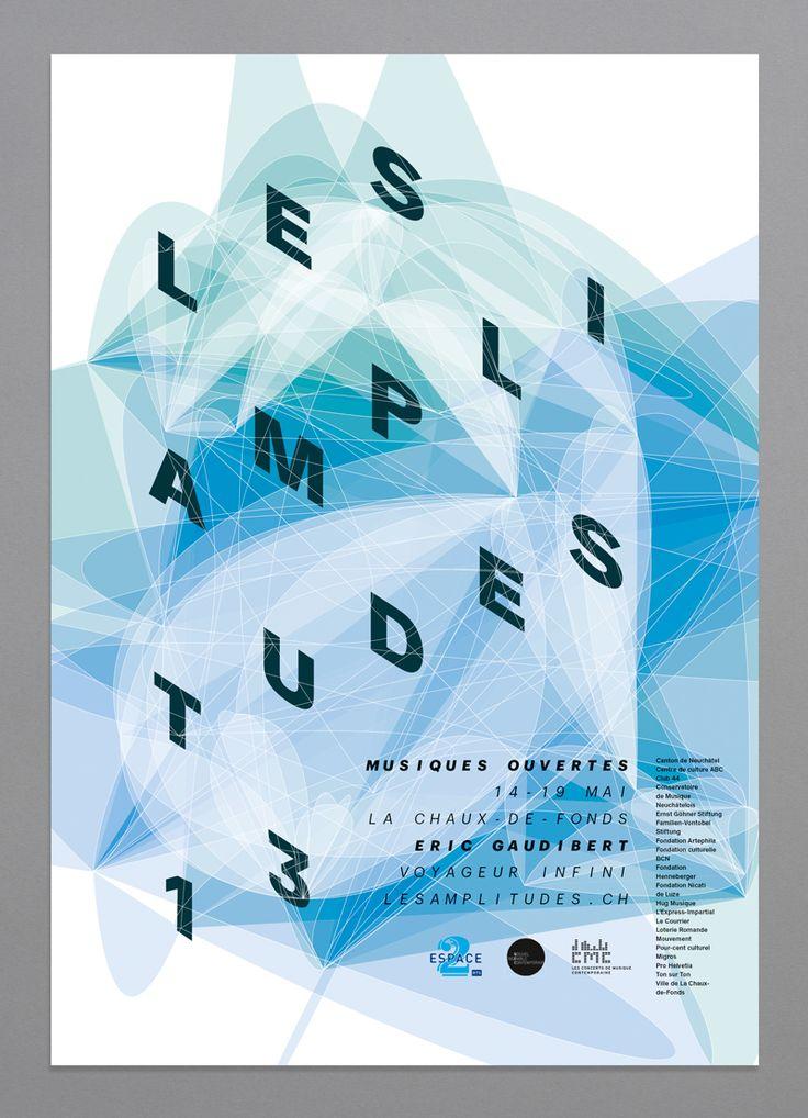 Yan Vuillème - Poster, Les Amplitudes, Music Festival