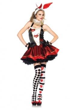 tea party bunny costume playboy bunny costumesexy halloweenhalloween - Halloween Costume Playboy Bunny