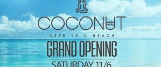 Coconut life on a beach bar http://goout.gr/bars-cafe/coconut-beach-bar-sxinias