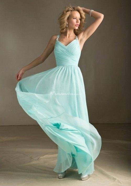 14 vestidos em azul para um look de convidada