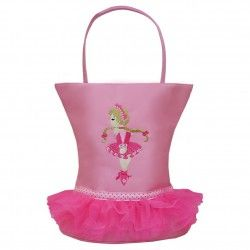 This adorable bag by Sassi Designs is perfect for your little dancer! The special Tutu Design features a cute embroidered ballerina. Soft tu...