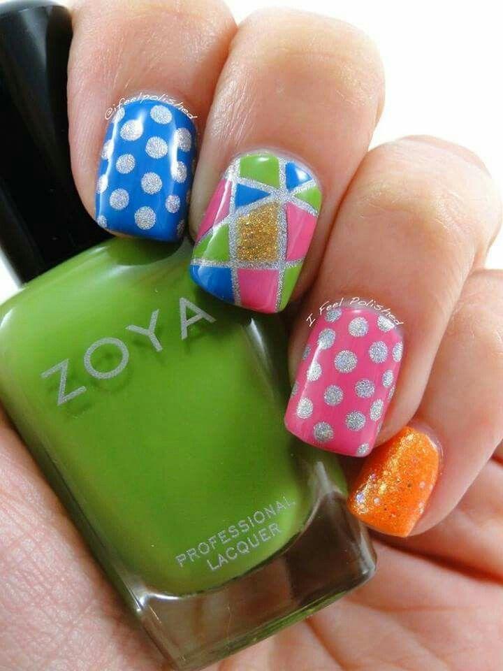 156 best Uñas divertidas images on Pinterest | Diseño de uñas, Uñas ...