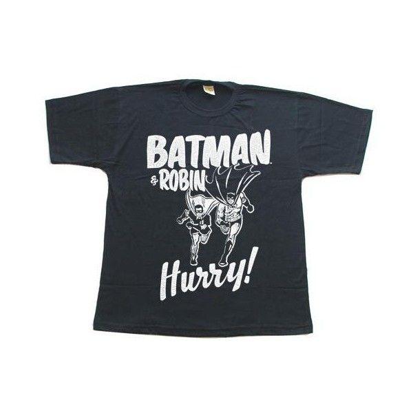 Camiseta - Batman - Hurry Up! - Por Encomenda! ❤ liked on Polyvore featuring tops