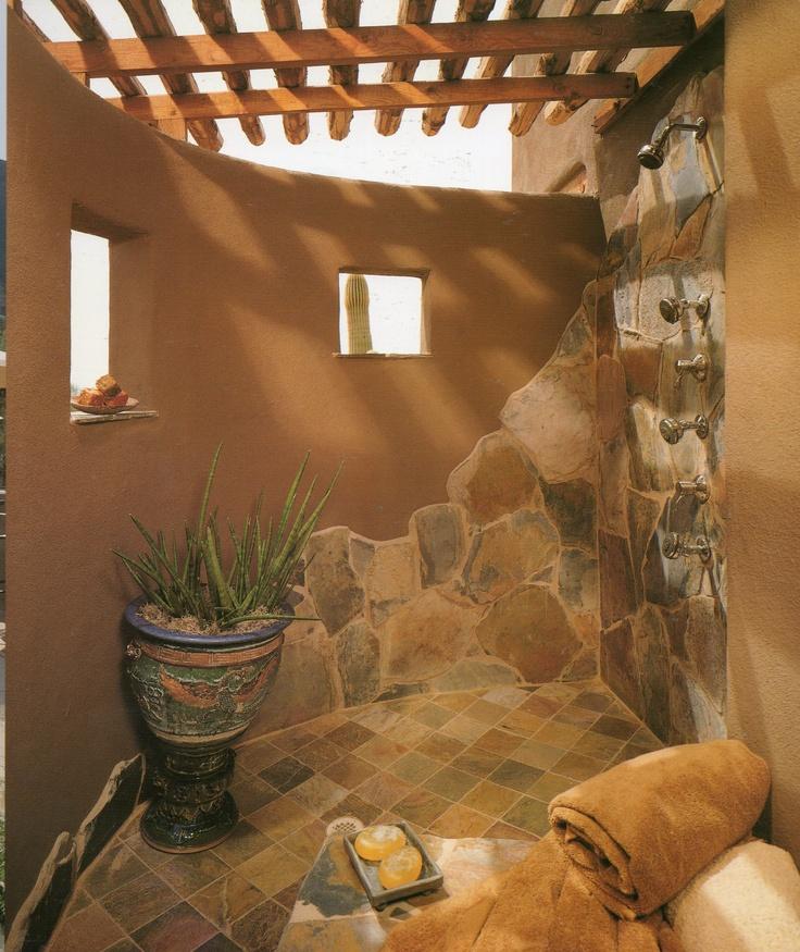 outdoor shower love the rock look - Fantastisch Bing Steam Shower