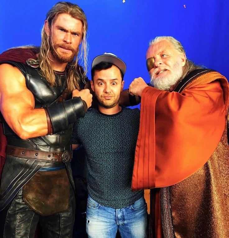Thor: Ragnarok, alcuni scatti rivelano la nuova armatura di Thor