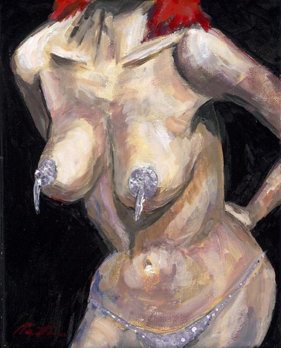 Crazy Horse Dancer    Original Painting