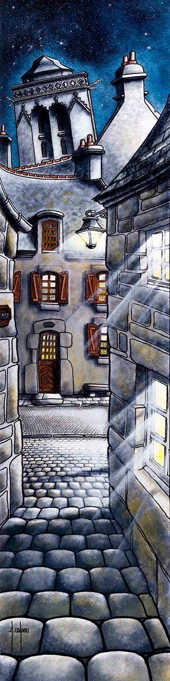 Alain Coadou (Locronan) -Stitched Panorama