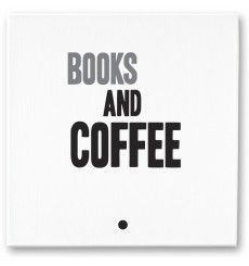 hand-made canvass mintmouse.com #books #coffee