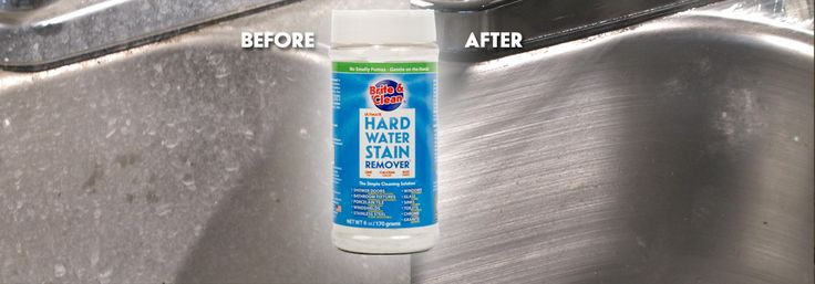 How To Remove Hard Water Stains On Chrome Stainless Steel