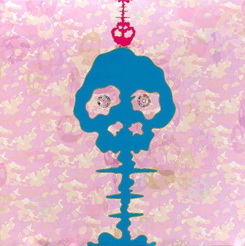 Takashi Murakami > Time Bokan - Camouflage  #popart #takashimurakami #superflat #kaikaikiki #artetrama