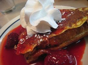 Here is a restaurant copycat recipe for International House of Pancakes Stuffed French Toast.  You don't need any fancy equipment or ing...