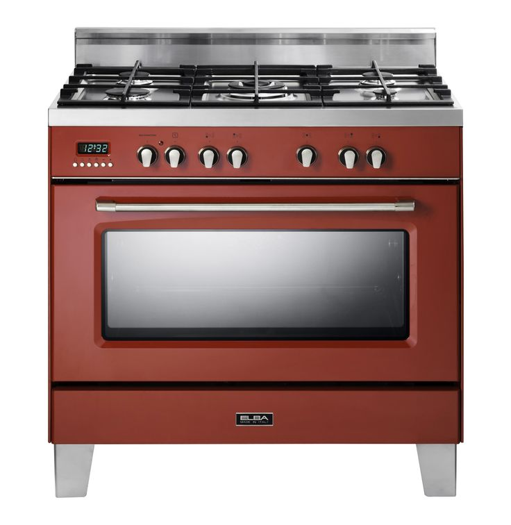 ELBA Retro 5 Burner Gas\Electric Stove | Makro Online