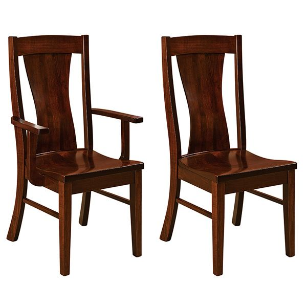 Amish Warsaw Dining Chairs | Amish Furniture | Shipshewana Furniture Co.