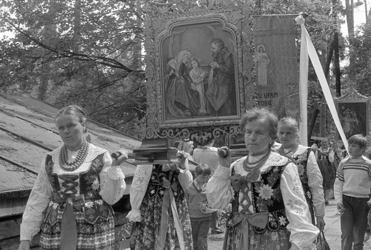 Rabka, Podhale.  Portraits taken in various Polish villages around the turn of 1970s/1980s by Zofia Rydet.