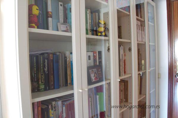C mo ordenar libros en nuestro hogar libros for Estanterias de cristal baratas