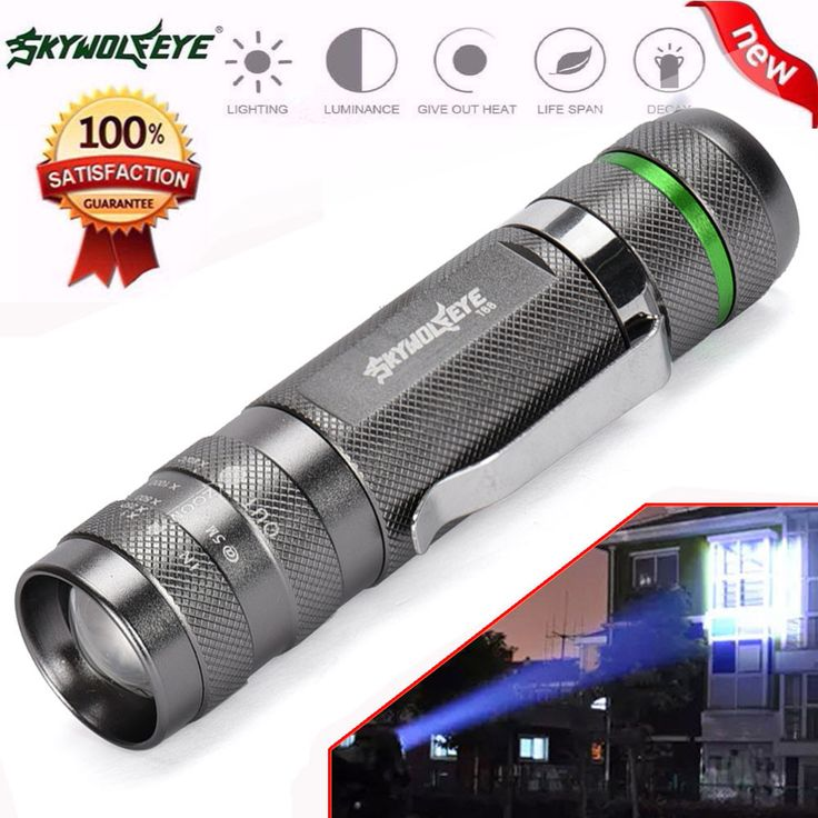 skywolfeye 3000LM Zoomable CREE XM L T6 LED 18650 Flashlight Torch Super Bright Light U6817-in Flashlights & Torches from Lights & Lighting on Aliexpress.com | Alibaba Group