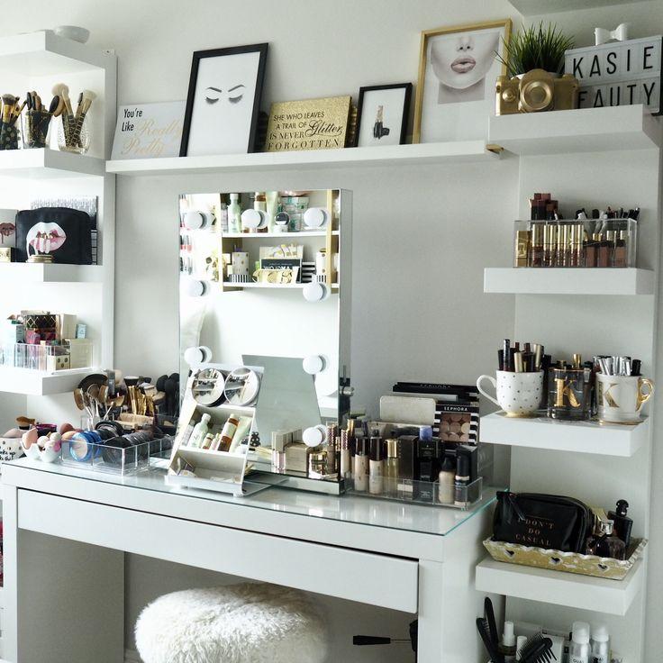 Best 25+ Makeup rooms ideas on Pinterest | Makeup ... on Makeup Room Design  id=64875