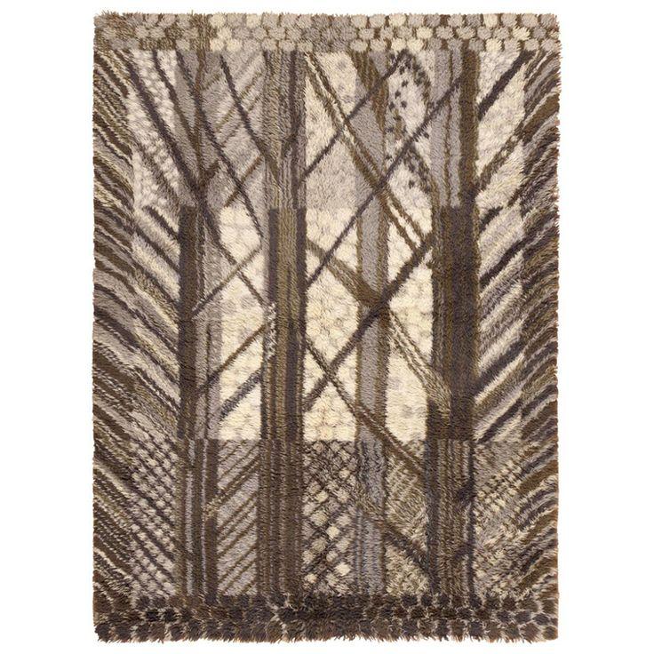 Vintage Rya rug