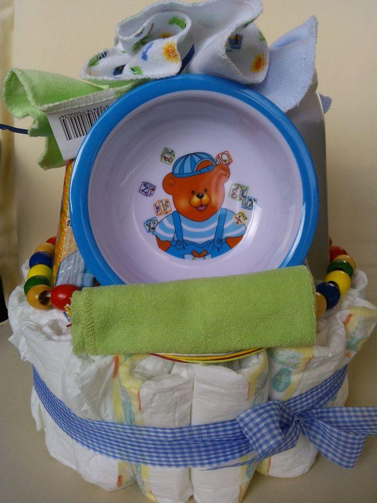 OTINANAI: Τα Diaper cakes του οτιναναι !!!