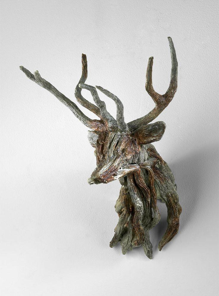 #Ciervo de madera    #Cabezas_ciervo #Deer_Deco
