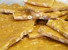 Cashew Brittle  Candy Made Fresh To Order Buttery by AmedeosBakery